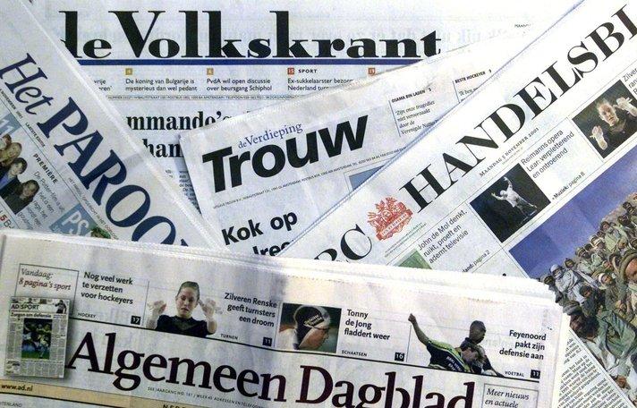 Persberichten in kranten en de media