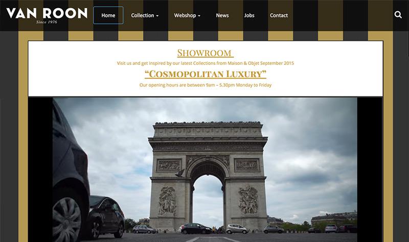 Website Van Roon Living