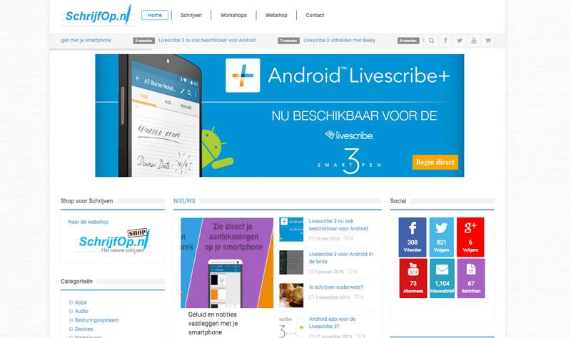 SchrijfOp.nl alles over digitaal schrijven