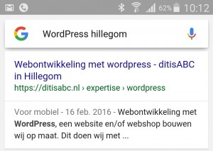 WordPress Hillegom