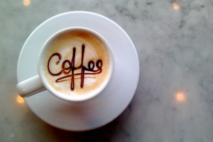 Koffie en contact